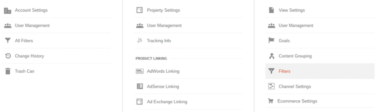 Criar uma lista de nomes de host válidos no Google Analytics