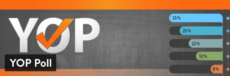 YOP Poll WordPress plugin - WordPress survey plugins