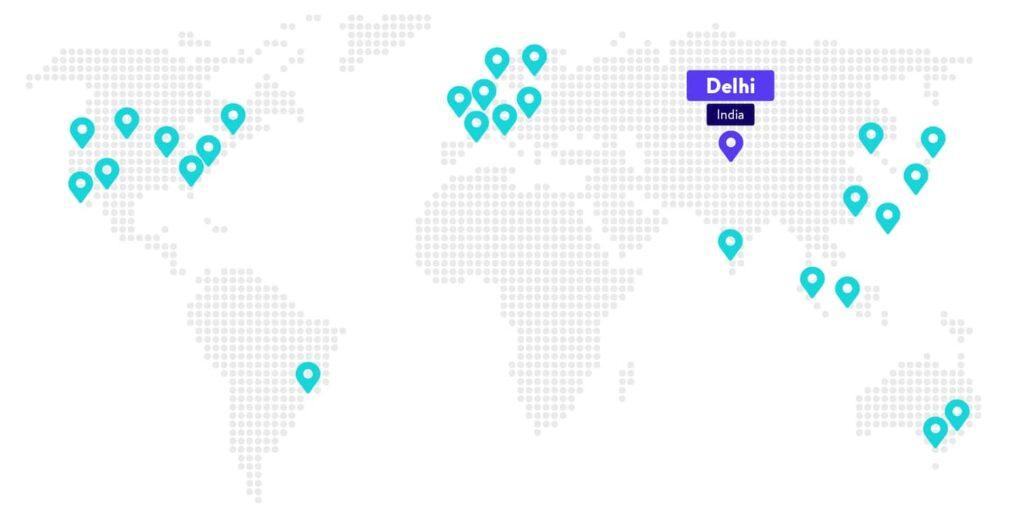 O Centro de Dados de Delhi já está disponível