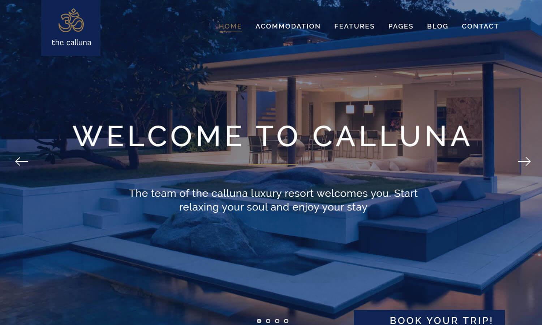 Hotel Calluna skärmdump
