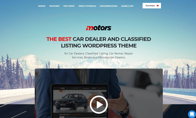 Motors skärmdump