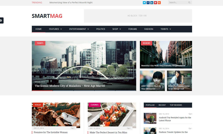 SmartMag skärmdump