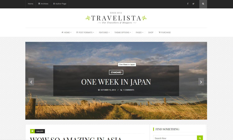 Travelista skärmdump