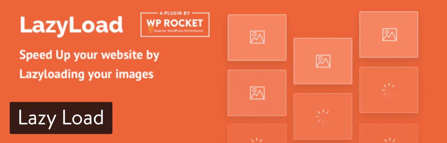 Lazy Load-pluginet av WP Rocket