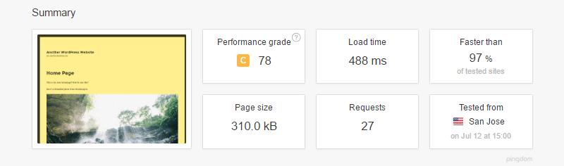 Hastighetstest med A3 Lazy Load-plugin