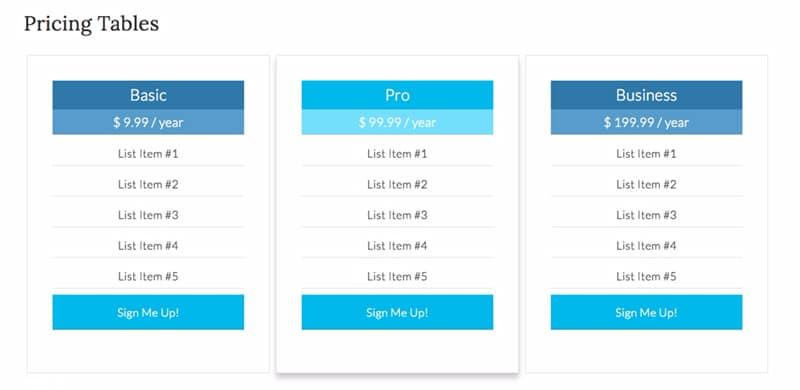 När du har klistrat in båda CSS-kodavsnitten, fortsätt och klicka på Uppdatera fil. Ta en titt på din sida och se till att allt visas som du vill ha det.