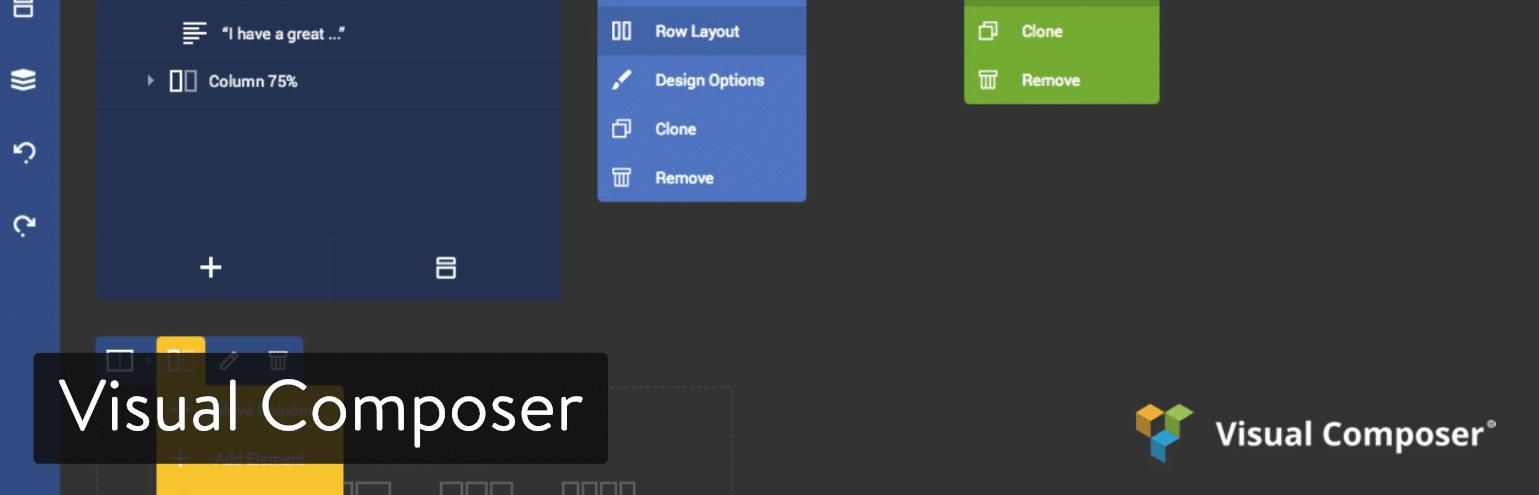 Visual Composer WordPress-sidbyggare
