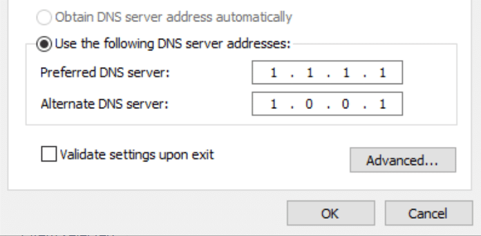 DNS-serveradresser