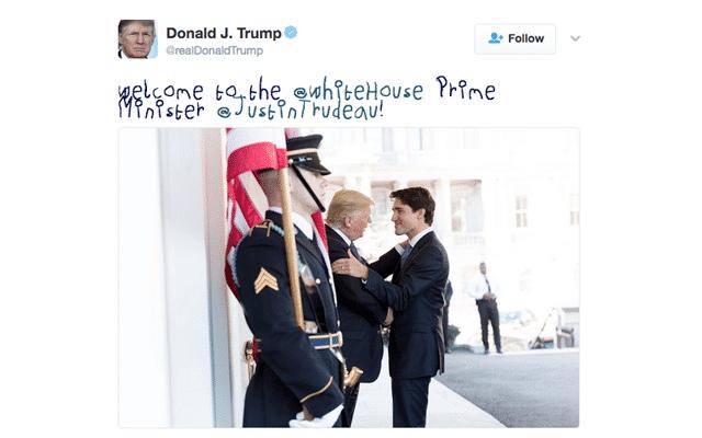 Välkommen till Vita huset