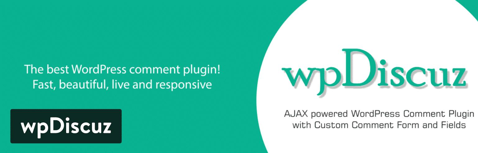 wpDiscuz WordPress kommentar-plugin