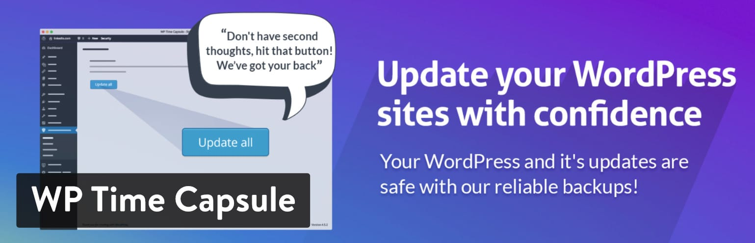 WP Time Capsule-plugin för WordPress