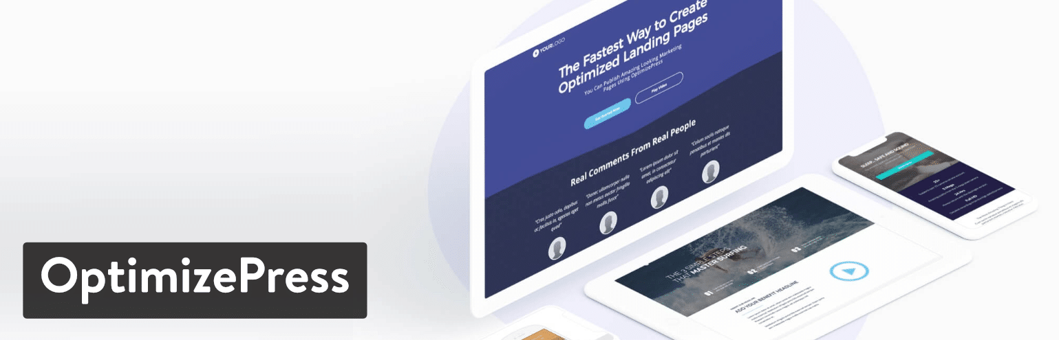 OptimizePress-plugin för landningssida