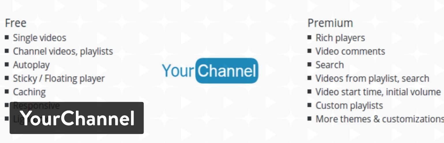 YourChannel WordPress-plugin