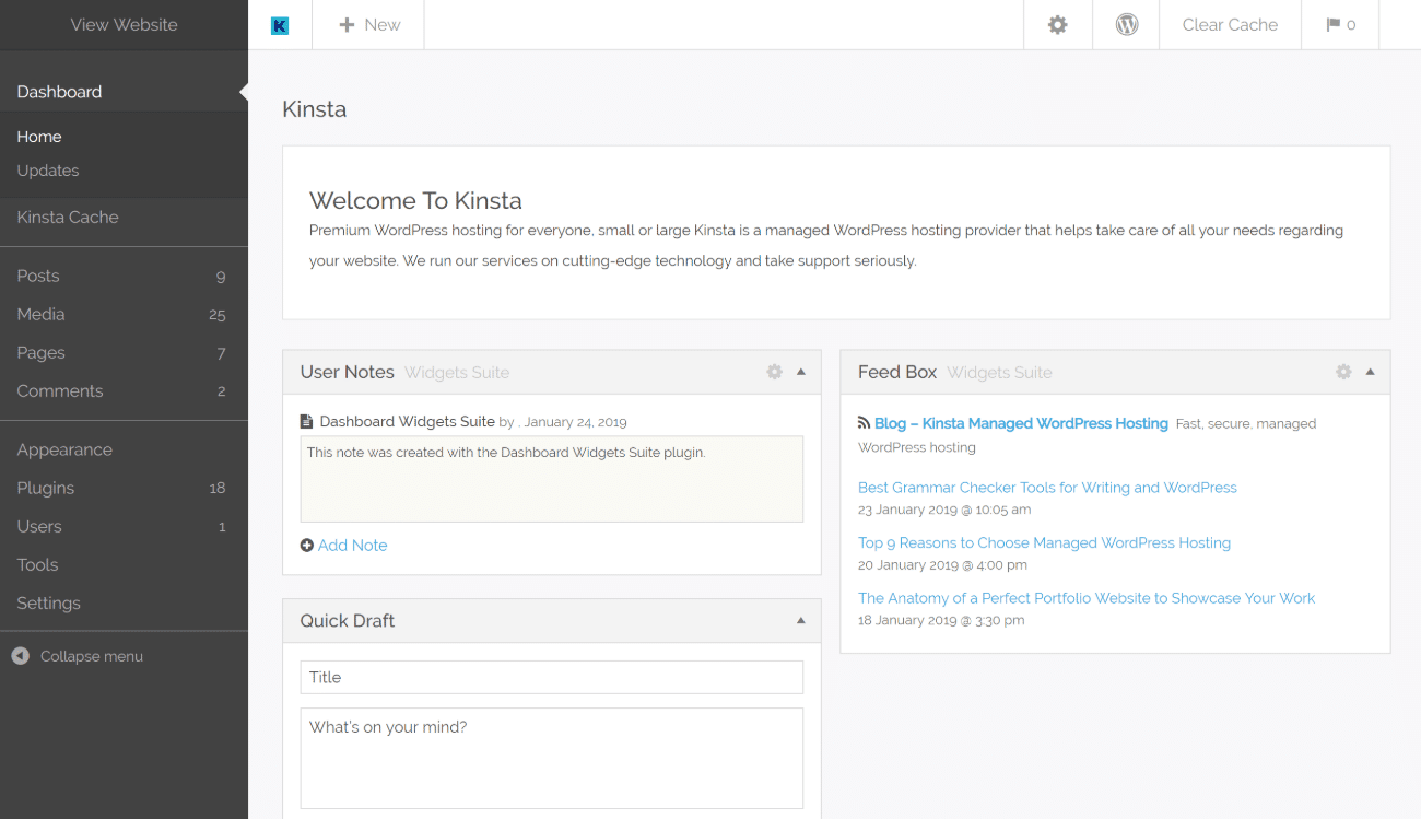 Kodeo WordPress-admintema