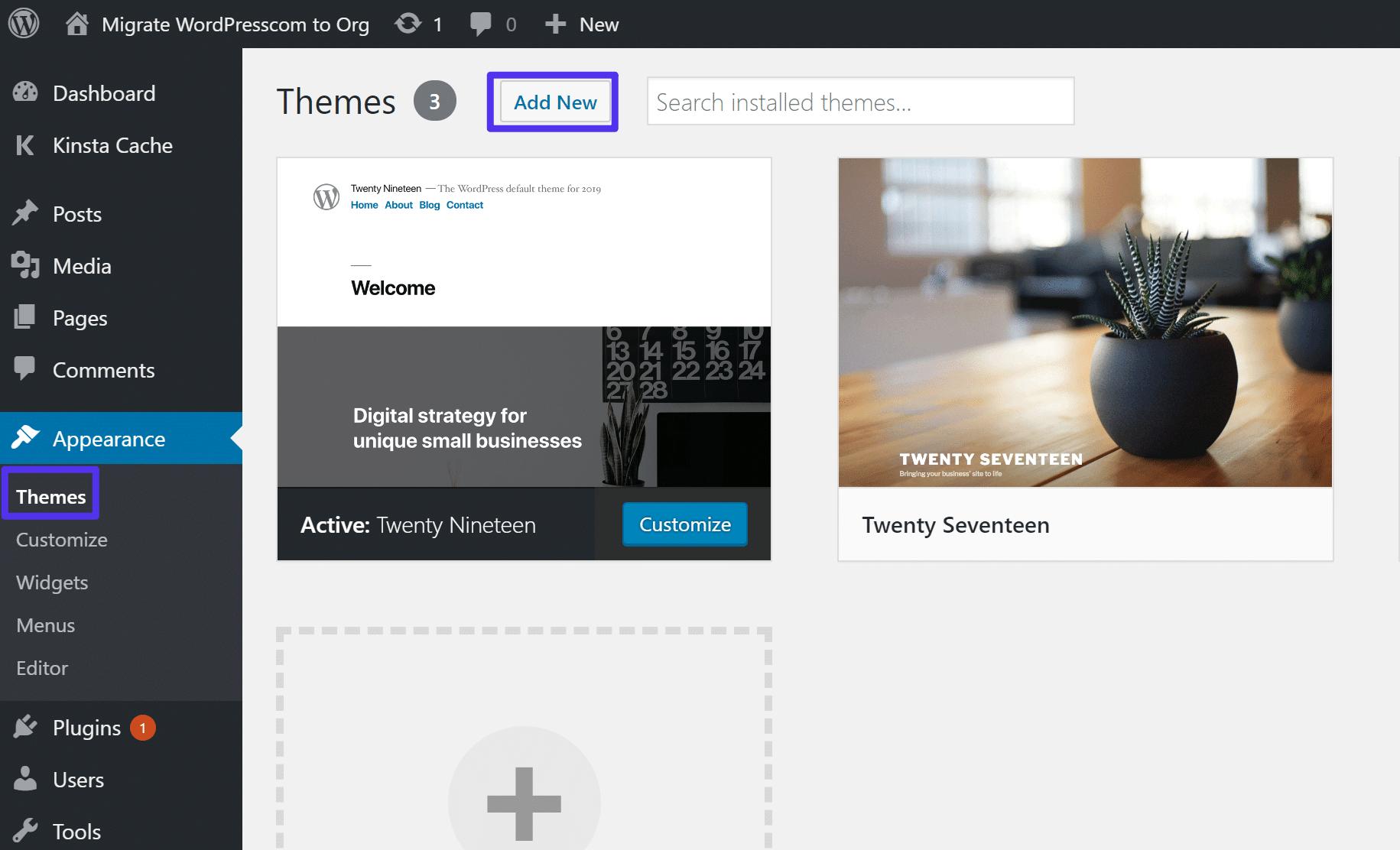 Så installerar du ett nytt WordPress-tema