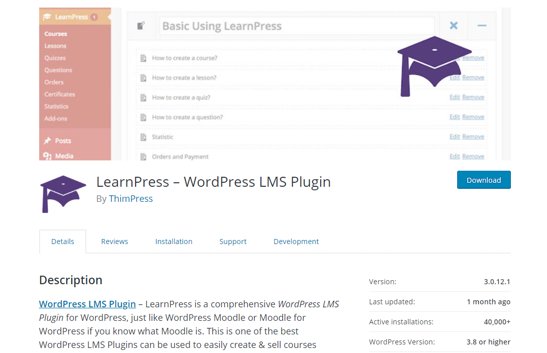 Website ideas: selling courses with LearnPress
