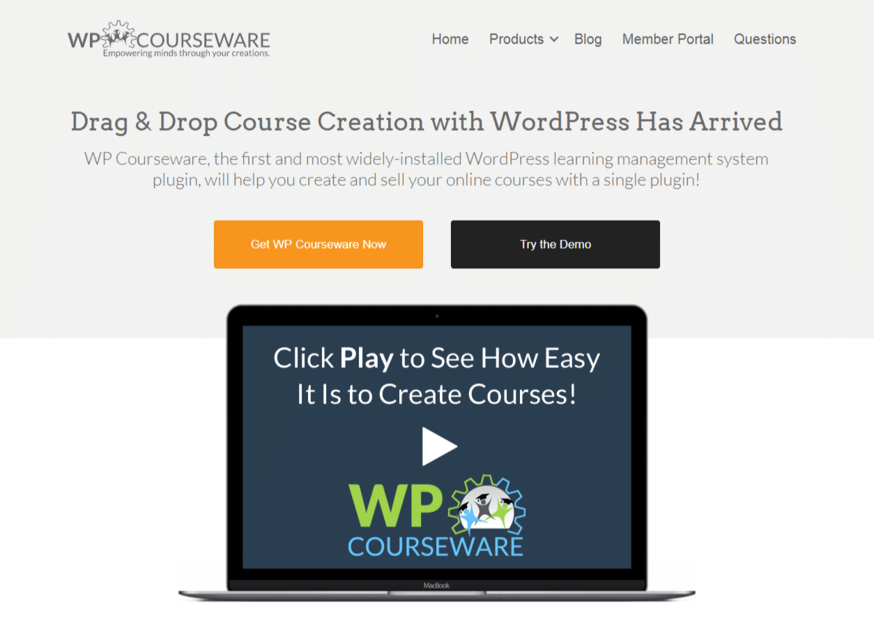 Website ideas: selling courses with WP CourseWare