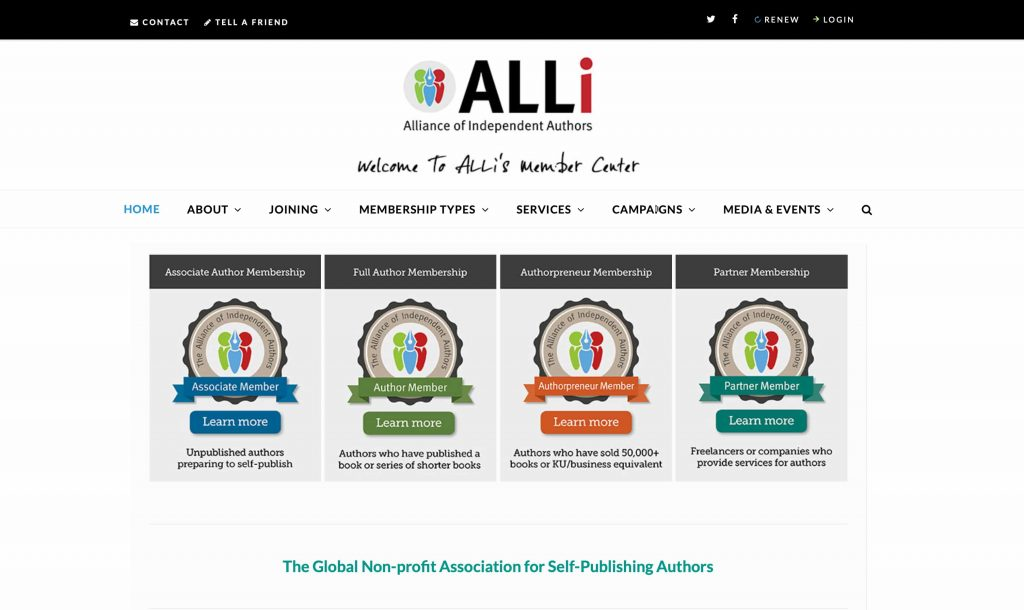 Alliance of Independent Authors
