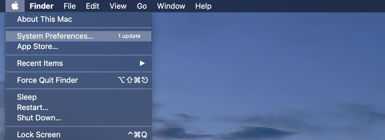 Mac systeminställningar