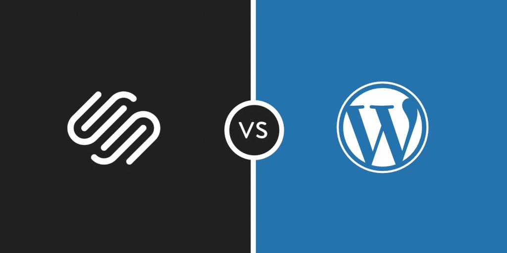 WordPress vs Squarespace - Vilken är bättre? (För- och nackdelar)