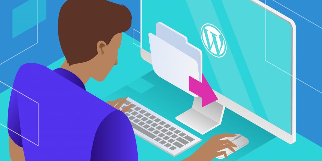 Exportare WordPress-webbplats