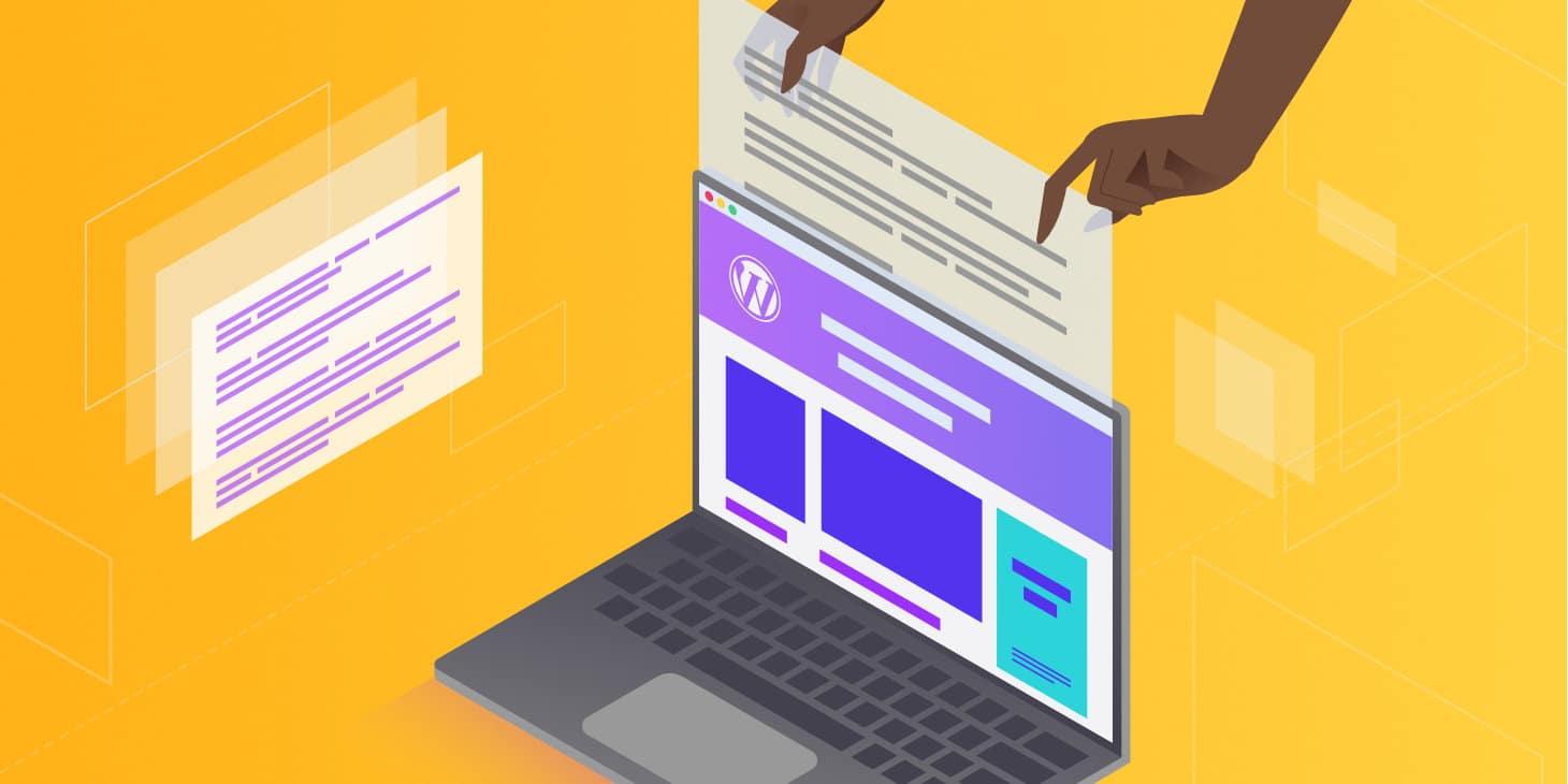 Så laddar du upp en HTML-fil till WordPress
