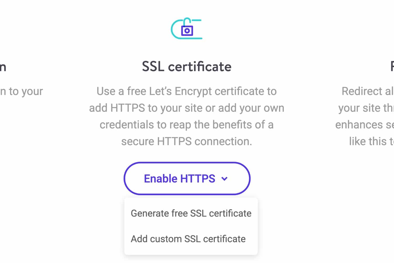 SSL-alternativ i MyKinsta