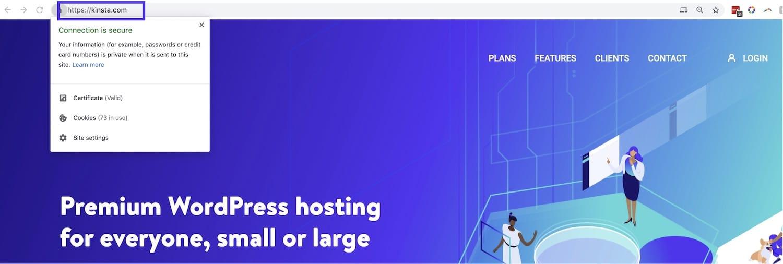 SSL i webbläsaren