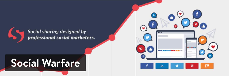WordPress Social Sharing Plugin Social Warfare WordPress-plugin
