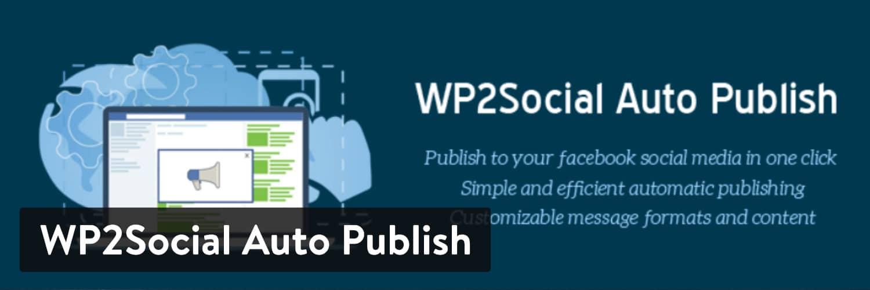WP2Social Auto Publish WordPress-plugin