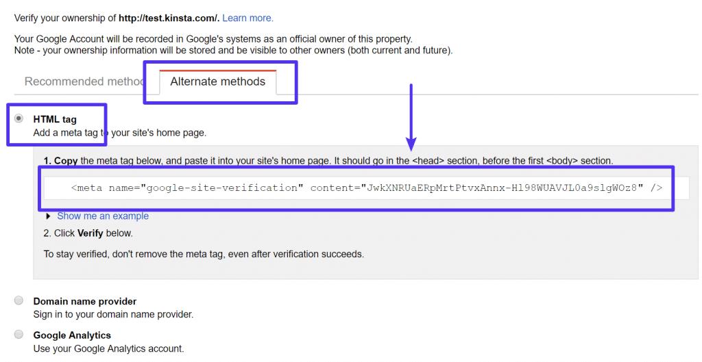 Här hittar du Google-verifieringskoden