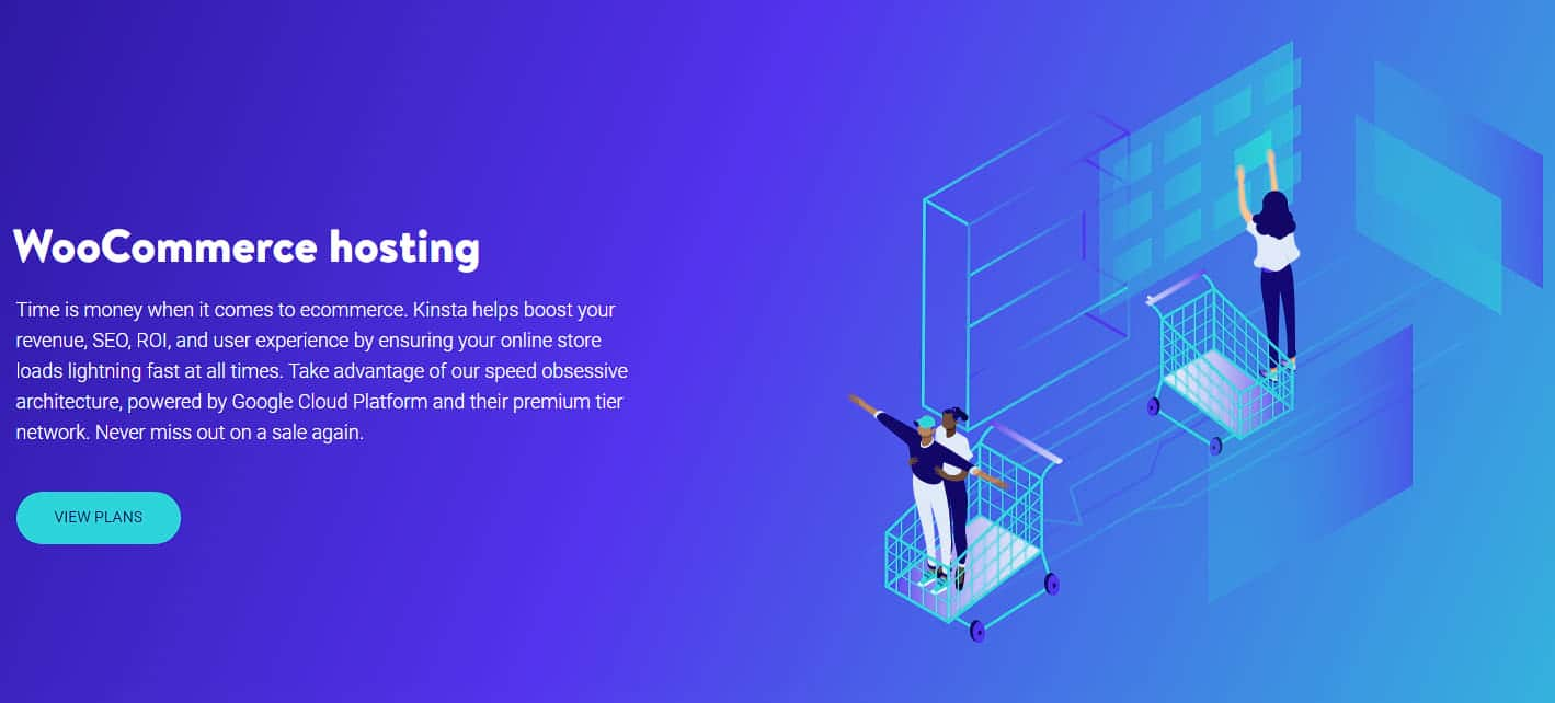 WooCommerce-Hosting med Kinsta