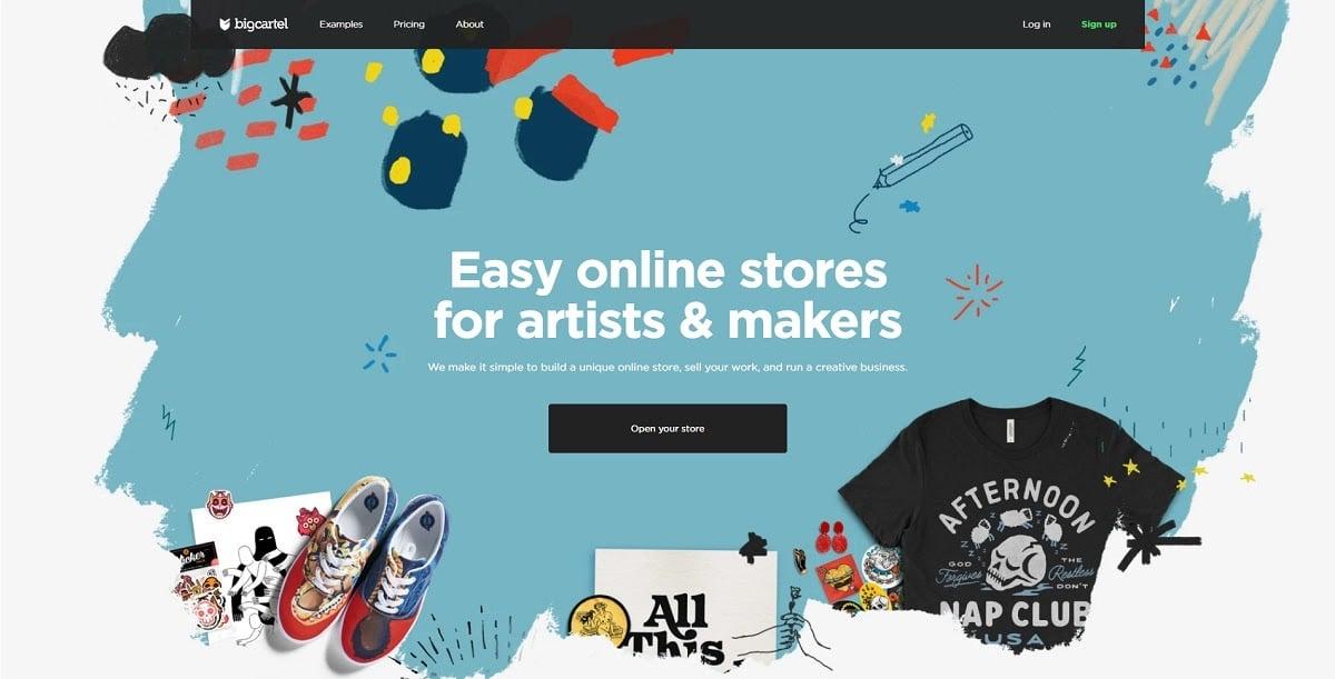 bigcartel - shopify alternatives