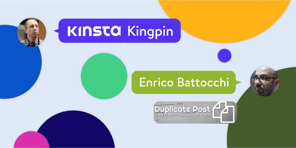 Intervju med Enrico Battocchi