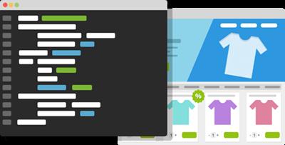 ecommerce theme coding