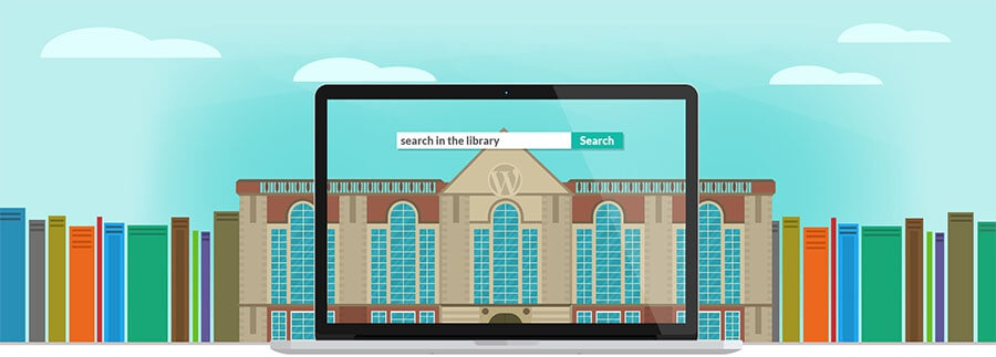 wordpress library