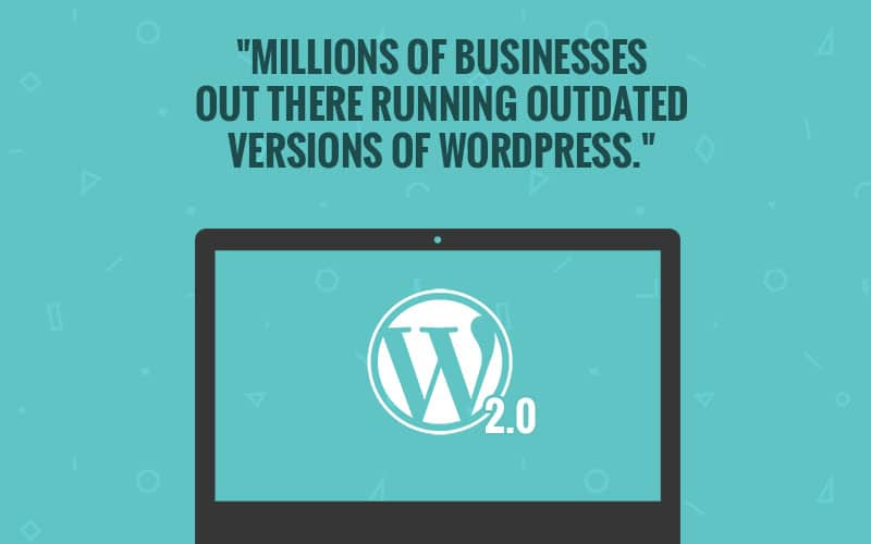 outdated WordPress versions