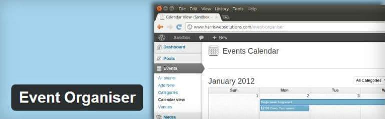 event organizer wordpress plugin