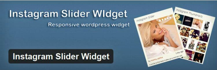 instagram slider widget plugin