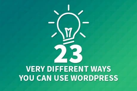 use wordpress