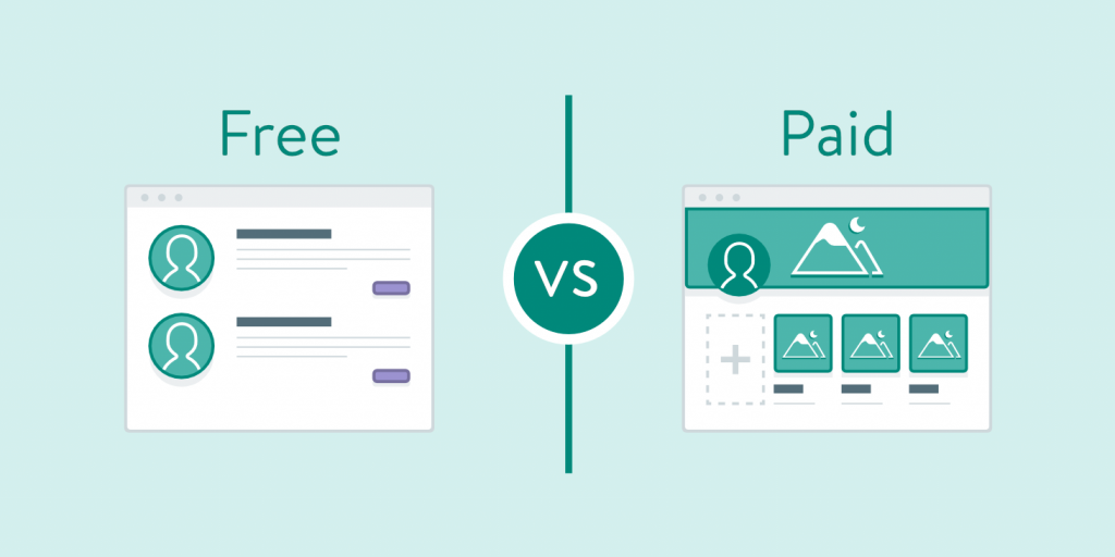 wordpress free vs paid themes
