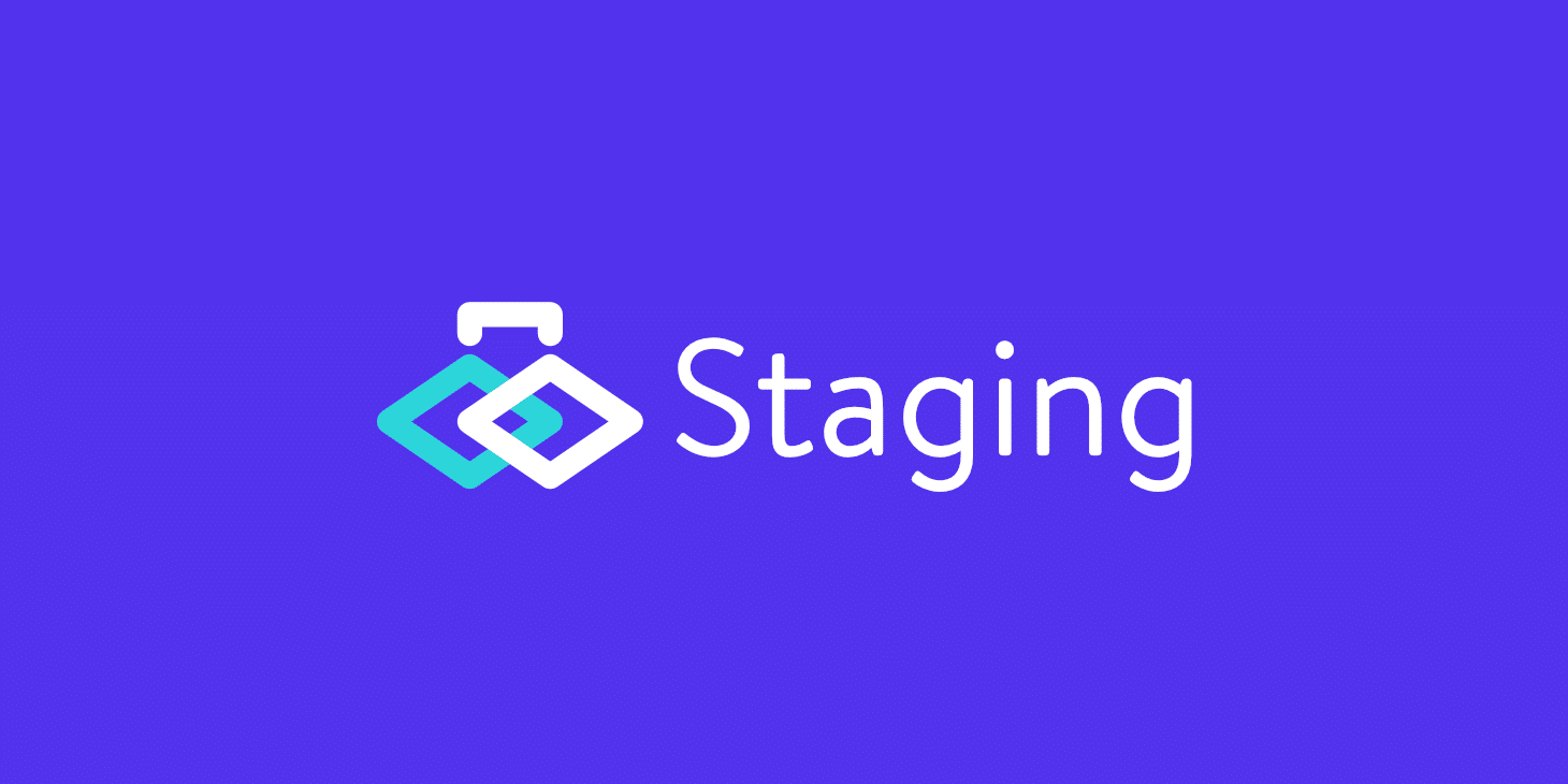 WordPress staging environment