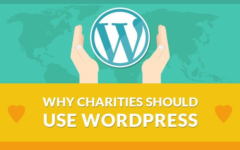 WordPress website for charities