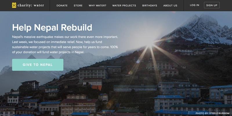 WordPress for chariites and non profits