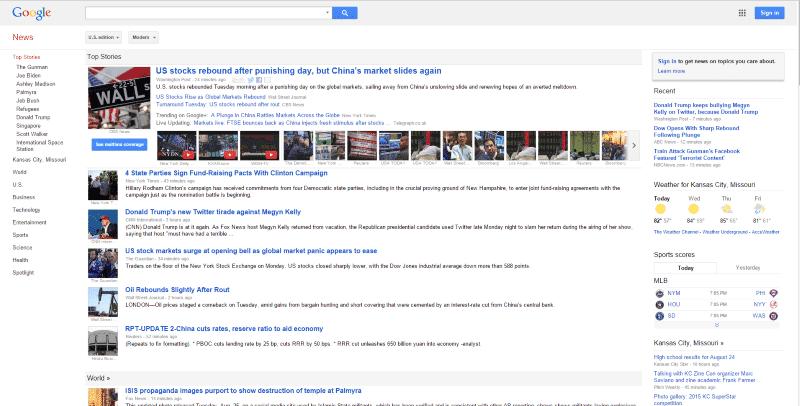 benefits of Google News