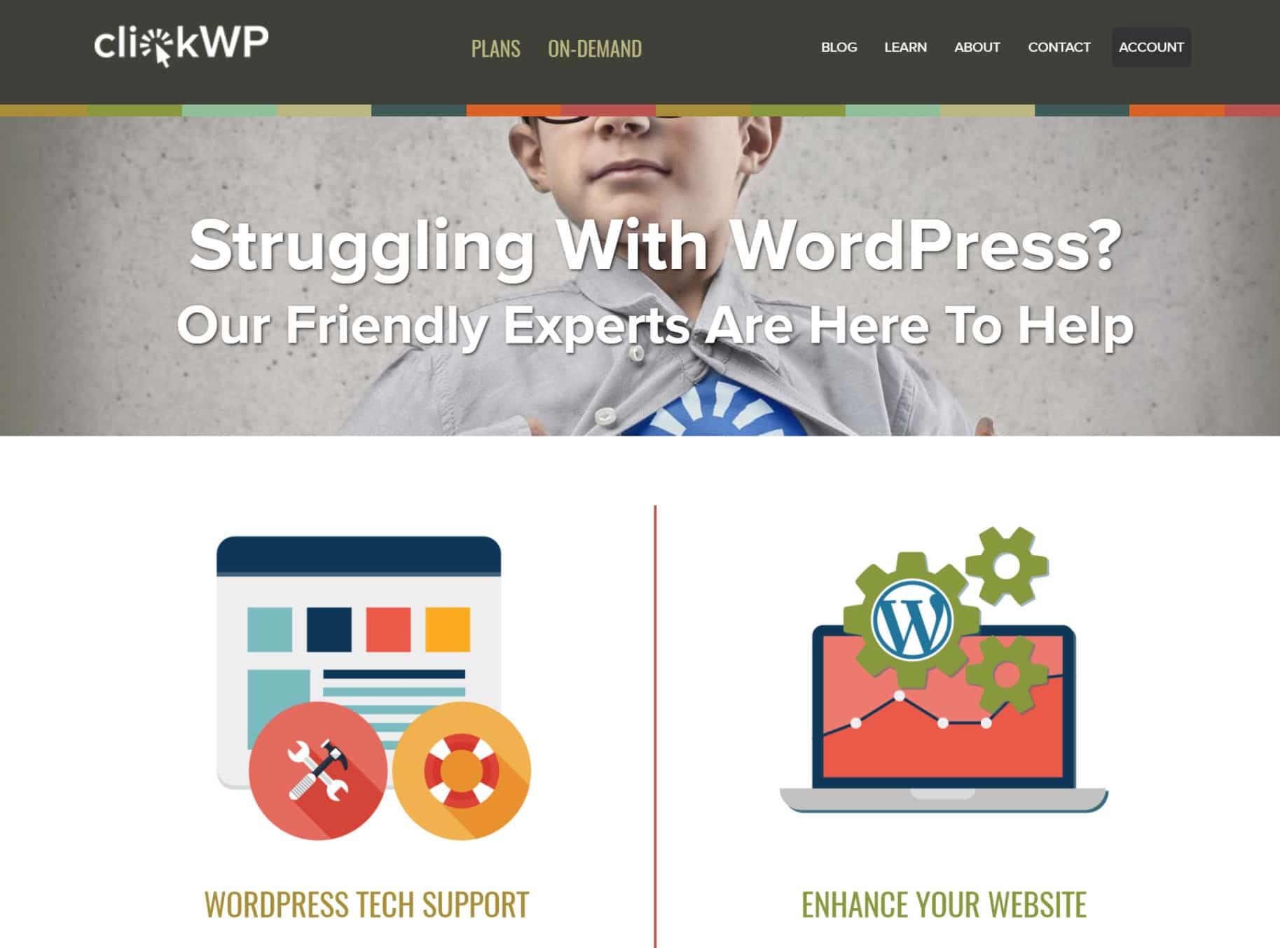 clickwp WordPress development