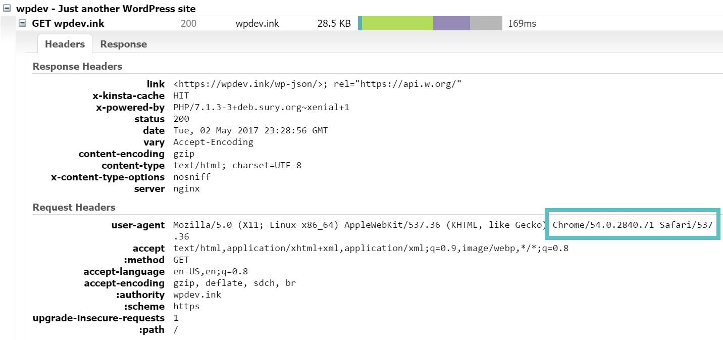 gtmetrix http/2 support