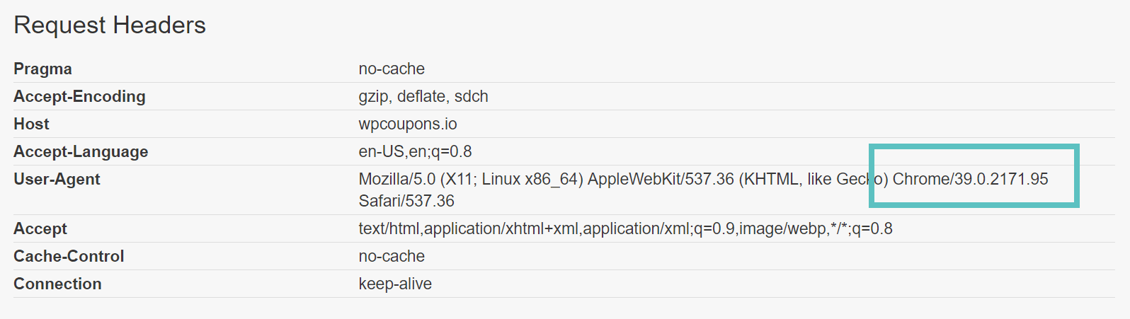 pingdom user-agent
