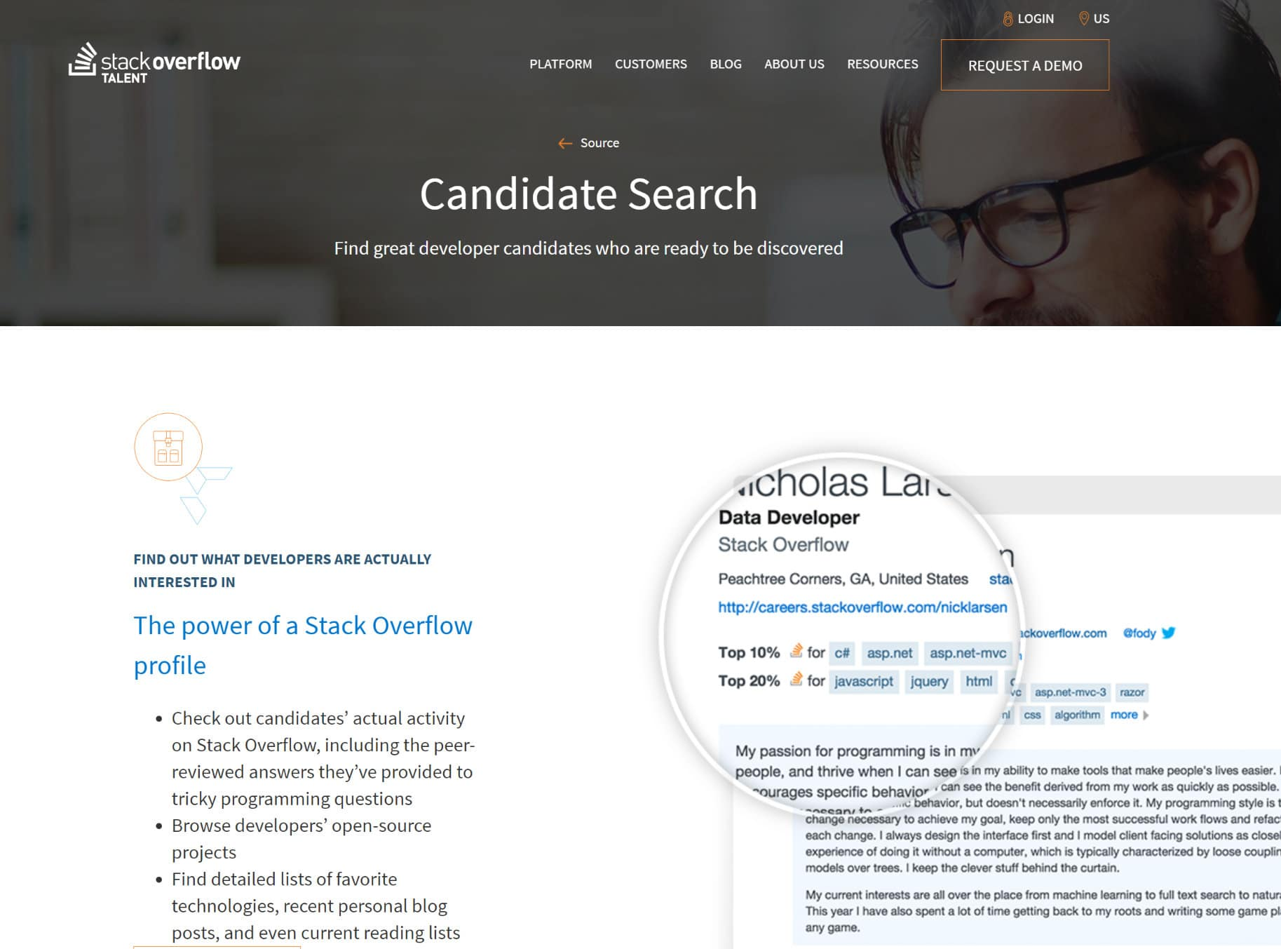 Hire WordPress developers at the Stack Overflow jobs board