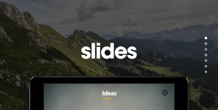 Slides Example Website
